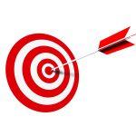 Target into Bulls eye