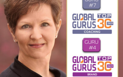 I am excited to share that I have been ranked #7 among the Top 30 Executive Coaches worldwide and #4 among the Top Branding Gurus worldwide!