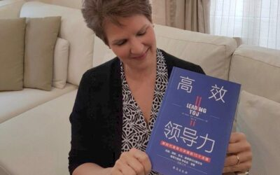 It's here! The Chinese edition of my latest book, Leading YOU™, has just been published.