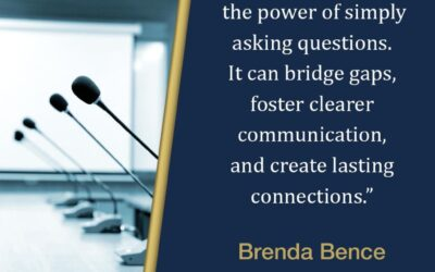 Asking great questions is one way to build a strong leadership brand for yourself.