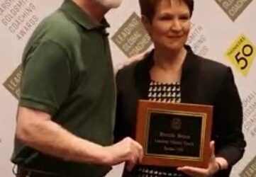 I am happy to share that I received a Thinkers50 World Leader in Coaching award from Marshall Goldsmith