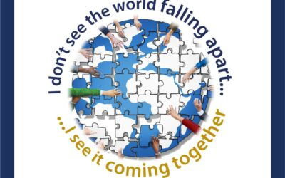 I don't see the world falling apart…