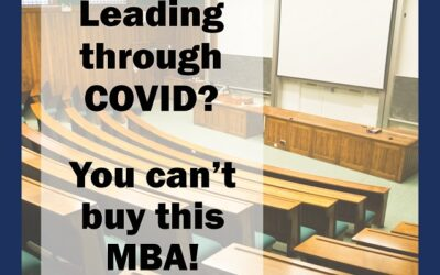 The COVID MBA