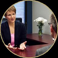 Brenda Bence coaching a client