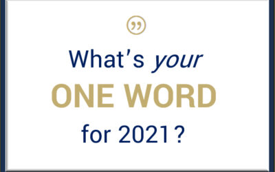 What's your one word for 2021?